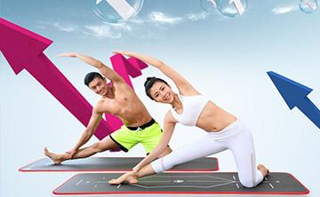 弥雅瑜伽垫淘宝电商网页设计