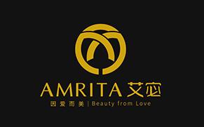 AMRITA 艾宓精油与女性原创设计品牌命名与logo设计