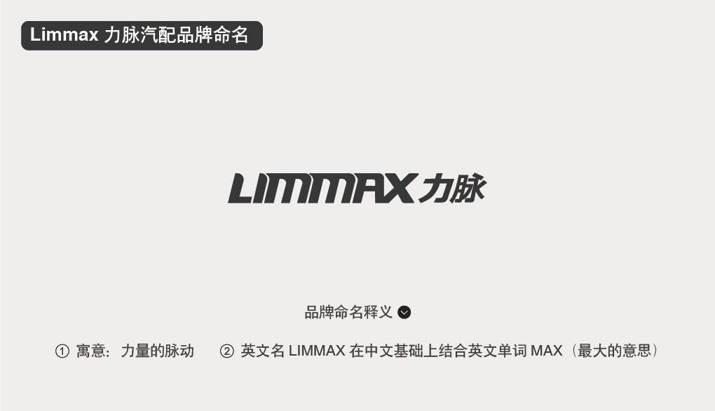 Limmax 力脉汽配品牌命名中英文命名