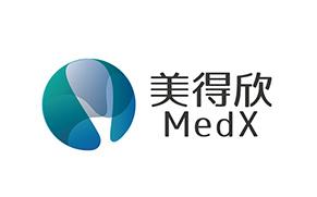 美得欣医药科技公司logo万博网页版手机登录VI万博网页版手机登录