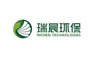 瑞晨环保科技公司logo万博网页版手机登录VI万博网页版手机登录