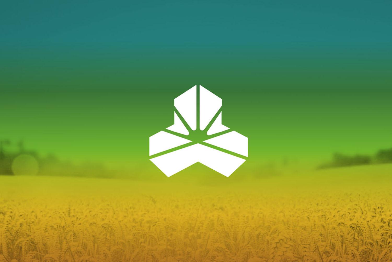 仁华农业公司品牌logo设计VI设计