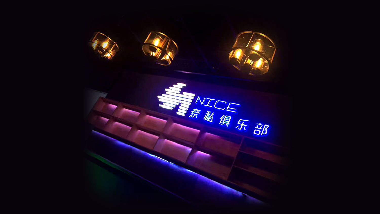 奈斯健身俱乐部高端会所logo设计vi设计