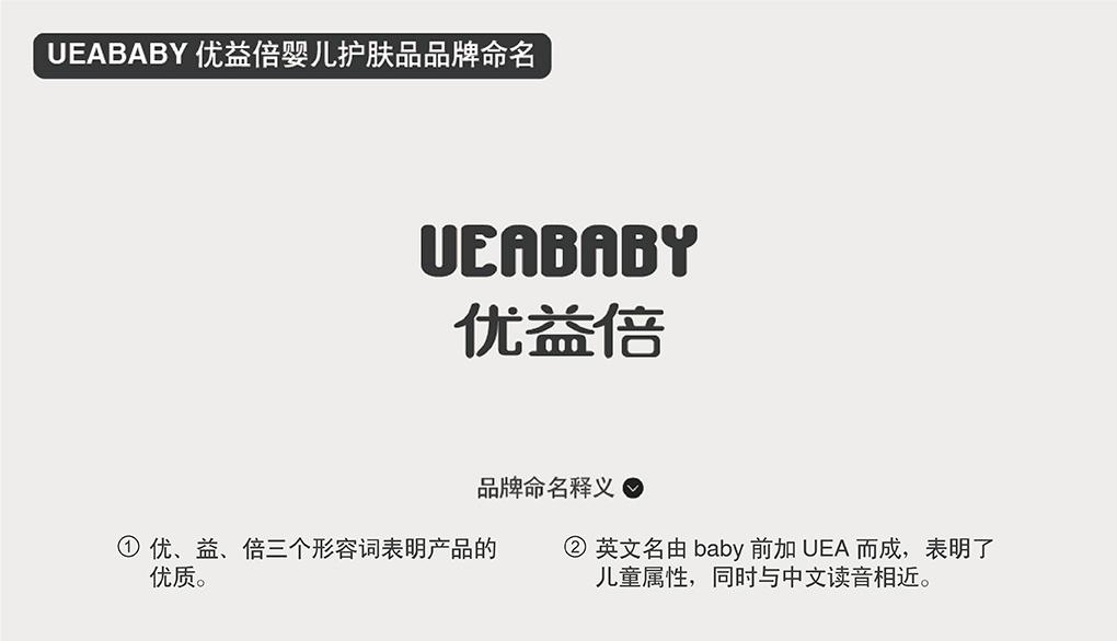 UEABABY优益倍婴儿护肤品商标起名品牌命名