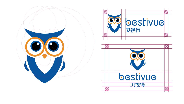 Bestivue贝视得儿童近视控制镜片品牌命名、logo设计、vi设计