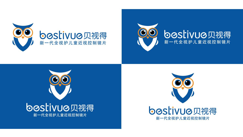 Bestivue贝视得儿童近视控制镜片品牌logo设计vi设计