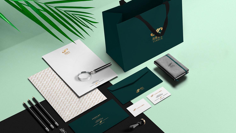 YAMBER颜博珠宝品牌设计logo设计