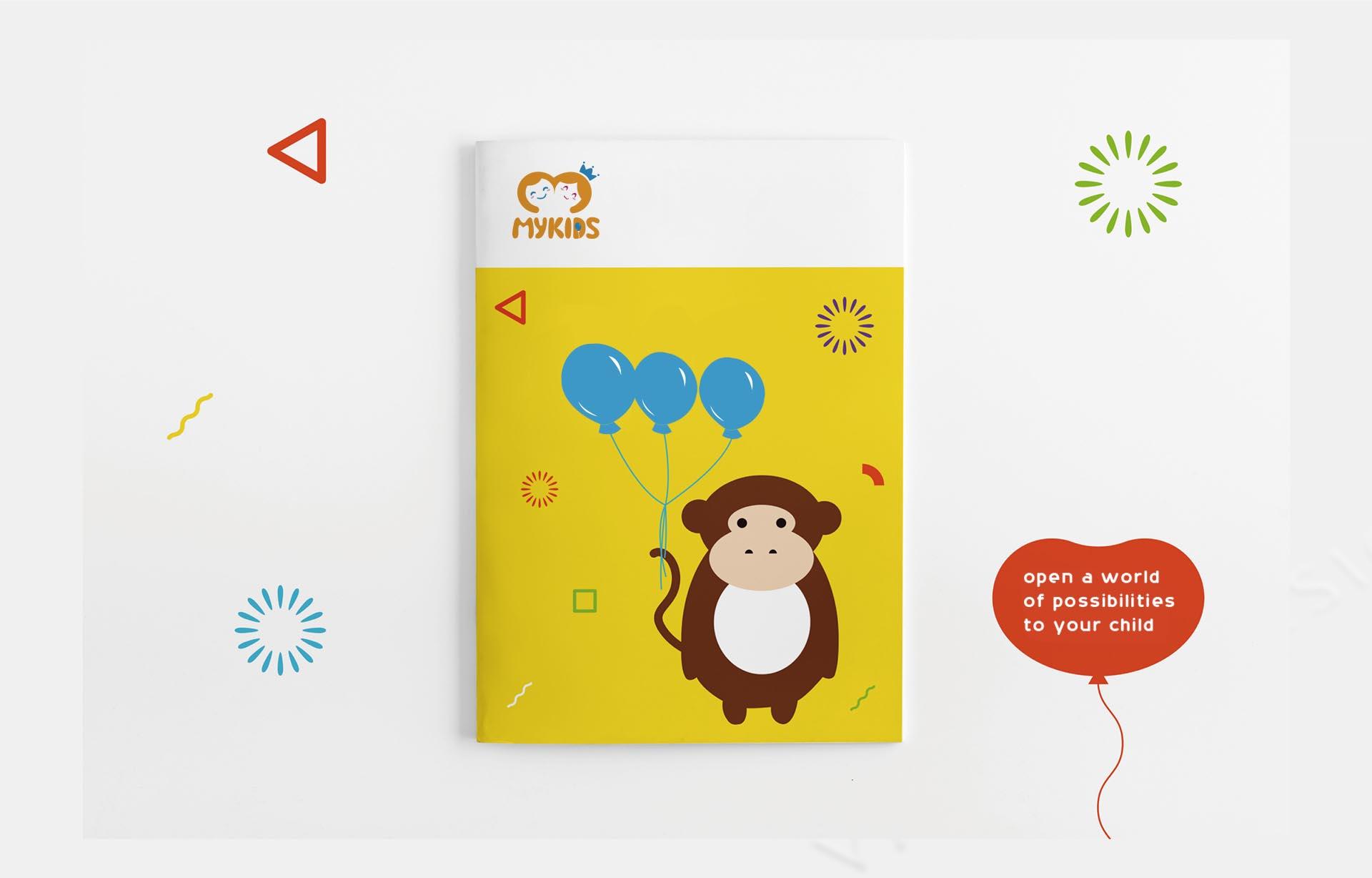 MYKIDS蒙奇思幼儿园万博安卓版logo万博网页版手机登录vi万博网页版手机登录