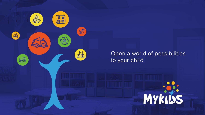 MYKIDS蒙奇思幼儿园品牌logo设计vi设计