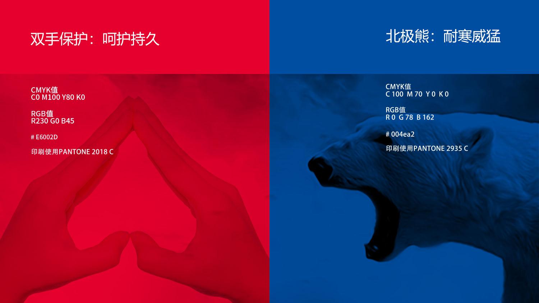 北极熊润滑油品牌logo设计包装设计