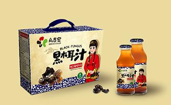 乌吉密黑木耳汁农产品包装fun88乐天使备用-上海农产品包装fun88乐天使备用案例