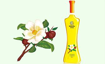 Shirlia 莎丽亚食用油瓶形设计山茶油亚麻籽油葡萄籽包装设计礼盒包装设计
