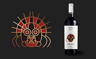 贺兰之麓岩画系列贺兰山葡萄酒包装fun88乐天使备用酒标fun88乐天使备用-上海红酒包装fun88乐天使备用公司