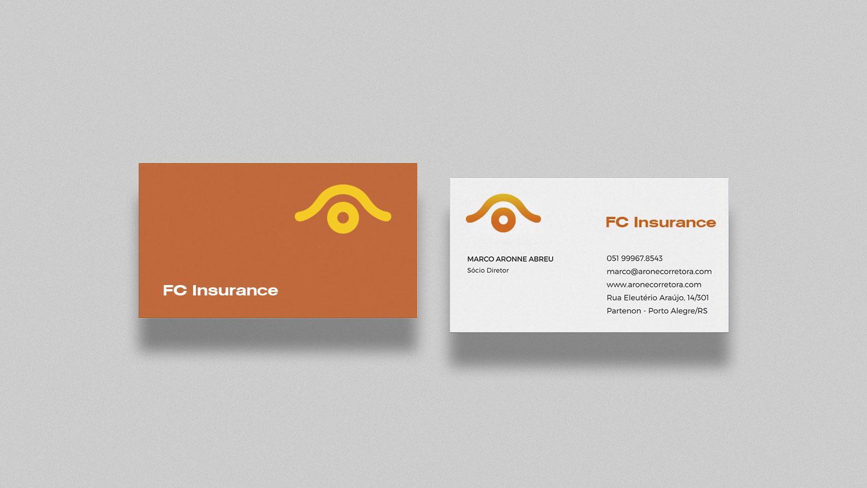 FC Insurance 保险logo设计vi设计提案